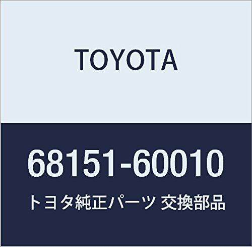 Toyota 68151-60010 Door Glass Run