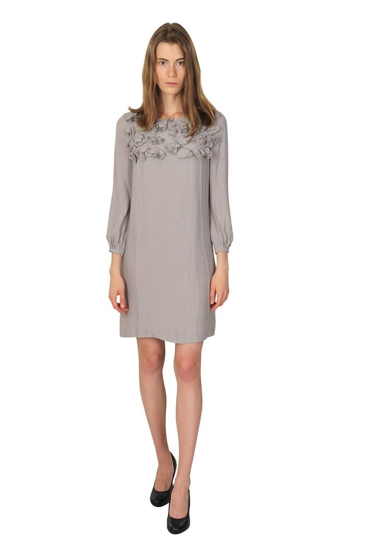 Scervino Street Dress Women Grey Plain