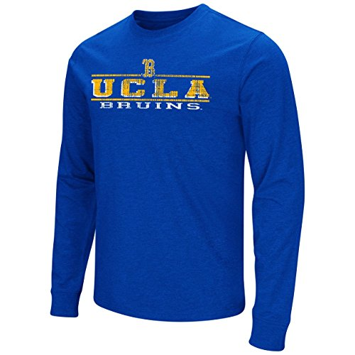 Ucla Bruins Adult Vintage Icon Logo Long Sleeve T Shirt   Royal   Small