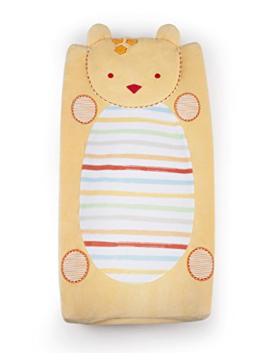 Kidsline Who's At The Zoo Changing Pad Cover, Plush Kidsline Cover