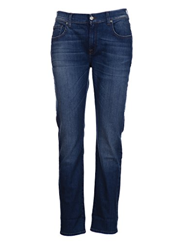 Coton SDLU800ZF All 7 Bleu Mankind For Jeans Femme g1wTqZYTI