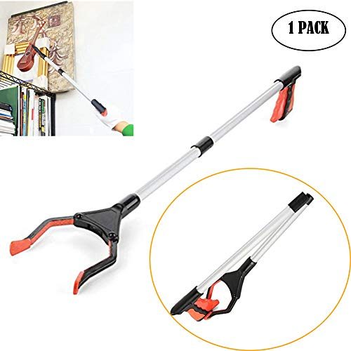 "Greatstar Reacher Grabber Pick up Tool, 32"" Extender Gripper Tool for Disability Aids, Foldable Ultra Light Handheld Grabber Tool for Trash Pick Up"