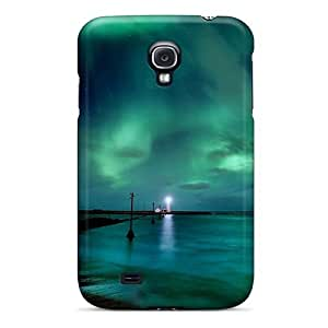 Northern Lights Flip Case With Fashion Design For Case Samsung Galaxy Note 2 N7100 Cover