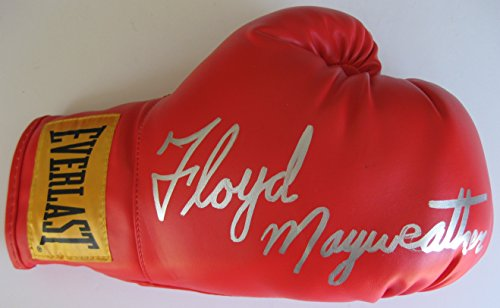 Floyd Mayweather Sr, Signed, Autographed, Boxing Glove, a COA with the Exact Proof Photo of Floyd Signing Will Be Included
