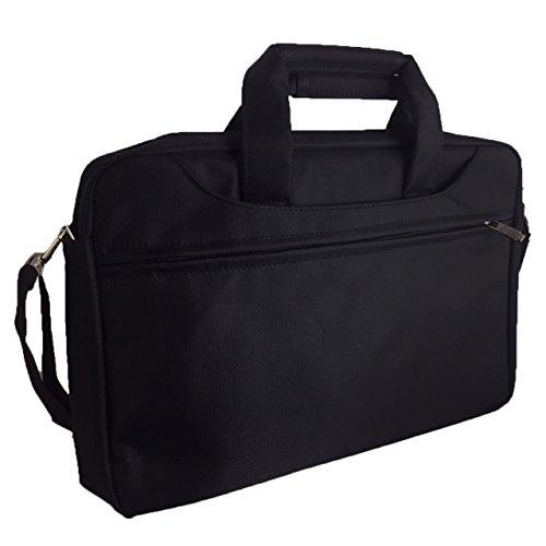Laptoptasche für Acer Aspire VX 15 VX5-591G Businesstasche/Aktentasche/Notebooktasche mit Schultergurt - LB Schwarz 4 wZkD4