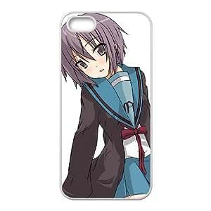 yuki nagato iPhone 4 4s Cell Phone Case White custom made pgy007-9039769