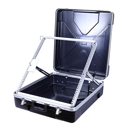 - Crossrock Molded ABS Carrying Case for Rack Mountable Mixer Up to 12U(CRA860MX)