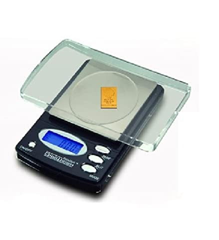 New Deluxe Digital Lab Balance with Warranty - Weigh Lab Chemics with Precision 1000 x 0.1 Grams and More