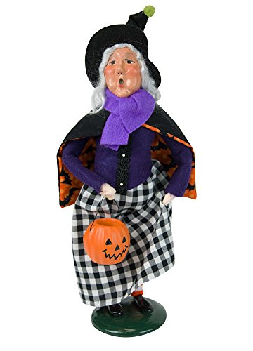 Byers' Choice Jack O' Lantern Witch Caroler Figurine #7181 from The Halloween Collection (New 2018)