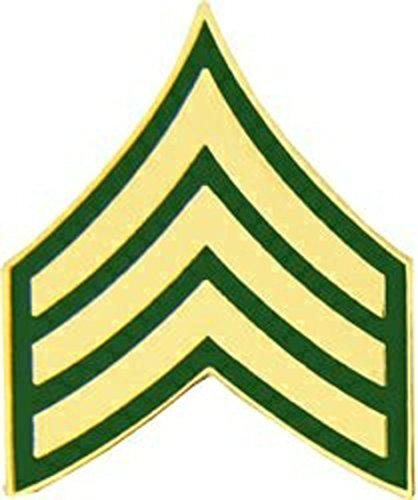 (US Army E-5/SGT Sergeant Lapel Pin or Hat Pin)