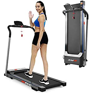 FYC Folding Treadmill, Electric Compact Treadmill Portable Foldable Treadmill for Home Small Treadmill for Apartment Home Gym Exercise Workout Jogging Walking, Installation Free