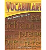 img - for Vocabulary for Achievement: 5th Course book / textbook / text book