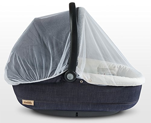 Baby Mosquito Net for Strollers, Carriers, Car Seats, Cradles. Fits ...