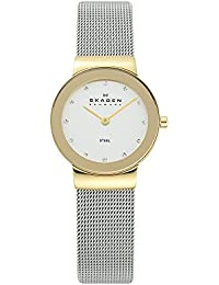 Women's 358SGSCD Freja Stainless Steel Mesh Watch