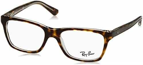 Ray Ban Junior RY1536 Eyeglasses-3602 Top Dark Havana On Transparent-48mm