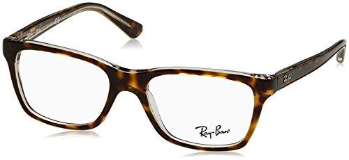 Ray Ban Junior RY1536 Eyeglasses-3602 Top Dark Havana On - Junior Bans Ray