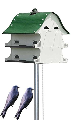 S&K American Barn Complete Purple Martin House Package by BestNest