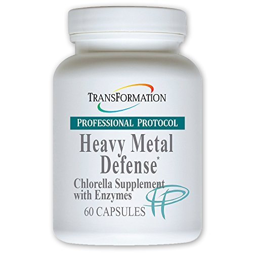(Transformation Enzyme Heavy Metal Defense 60 capsules - #1 Practitioner Recommended - Support For The Liver - - Chlorella Supplement with Enzymes and Nutritional Support to Promote a Healthy Immune)