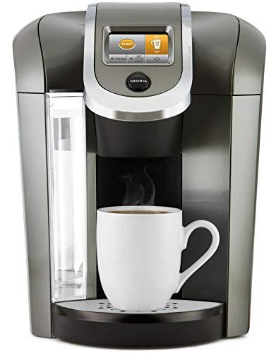 Keurig K500 Certified Refurbished Coffee Maker, Single Serve K-Cup Pod Coffee Brewer, Programmable Brewer, Black