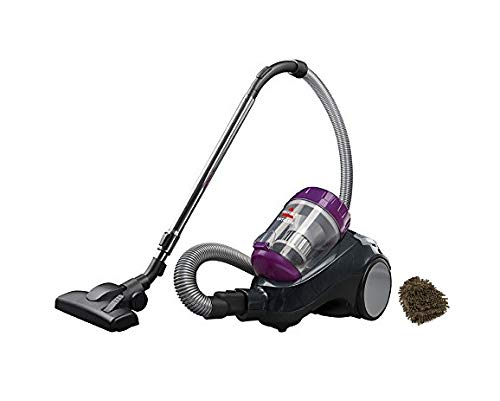 BISSELL OptiClean Canister Vacuum Cleaner, 1989D, Area Rug HardFloor (Complete Set), with Bonus Premium Microfiber Cleaner Bundle