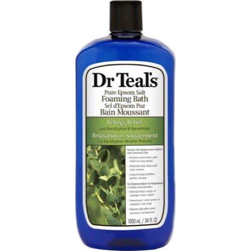 Dr Teal's eucalyptus & spearmint foaming bath, 1000 Milliliter PDC Brands