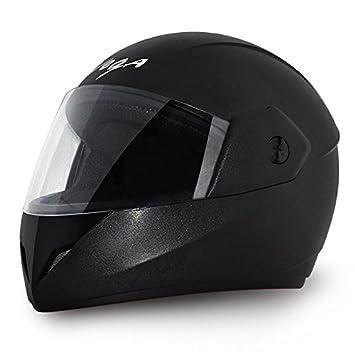 Vega Cliff CLF-LK-M Full Face Helmet (Black, M) Helmet Vega