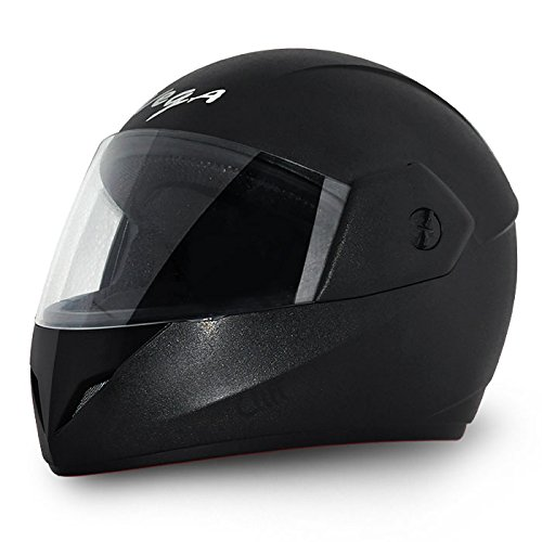 Vega Cliff CLF-LK-M Full Face Helmet (Black, M)