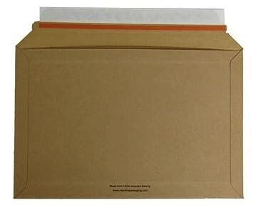 a194 a5 292mm x 194mm rigid book dvd cardboard envelopes mailers qty