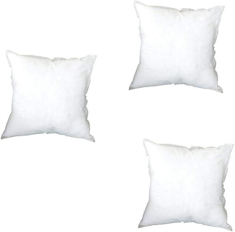 1//2//3Pcs Coussin Int/érieur Housse en Fibre de Polyester 1PC 45 x 45 cm MerryDate Bedding Coussins de Garnissage Noyau doreiller Coussin dInt/érieur Coussin /à recouvrir Doux Confortable