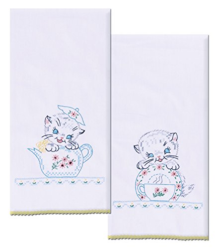 Design Works Crafts T264102 Kittens Towels 17