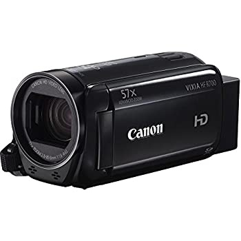"""Canon VIXIA HF R700 Full HD Camcorder with 57x Advanced Zoom, 1080P Video, 3"""" Touchscreen and DIGIC DV 4 Image Processor - Black (Certified Refurbished)"""
