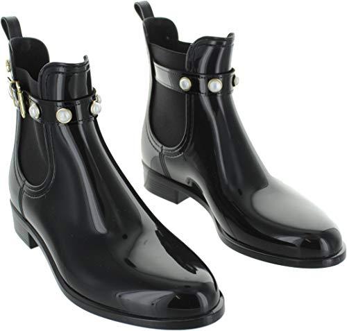Femme Chelsea Pearl Noir 01 Black Noir Boots Lemon Jelly 4qvFXxwq6