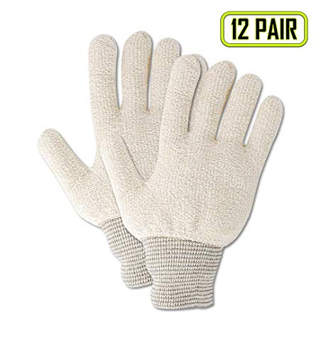 - Magid Glove & Safety PT944RJ Magid Terry Master PT944R Medium Weight Loops-Out Terrycloth Gloves, Men's (Fits), Natural, Jumbo (Fits XL) (Pack of 12)