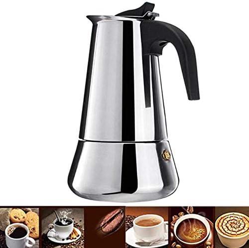 Amazon.com: NARCE - Cafetera de acero inoxidable con ...
