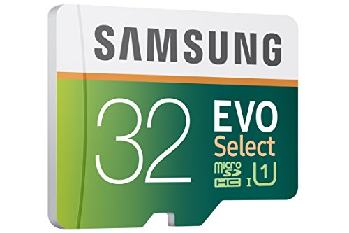 Samsung 32GB 80MB/s EVO Select Micro SDHC Memory Card (MB-ME32DA/AM)