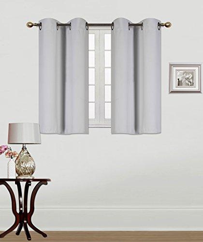 GorgeousHomeLinen (K54) 2 Bathroom Window Panel 30