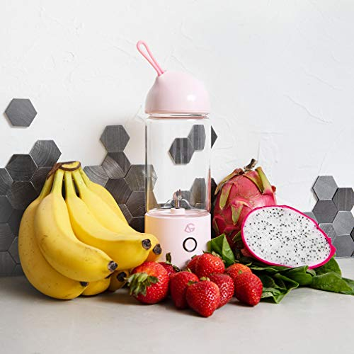 New Small Portable Blender Prime A Personal Wireless Mixer For On The Go Shakes Smoothie Or Smoothies The Best Electric USB Rechargeable Juicer With A Single Serve Bottle Travel Cup Perfect For Colleg