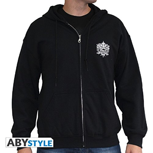 Of Sweatshirt Card Lord Ring Abystyle Black The Bqx56F