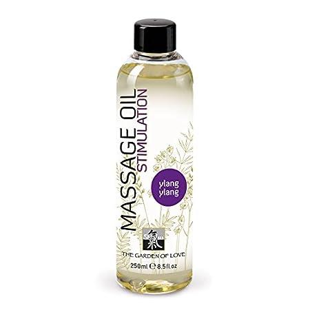 SHIATSU Erotisches Massageöl Ylang-Ylang, Massageoil für die sinnliche Partnermassage zur Stimulation, mit erlesenen Duft. 25