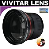 Vivitar Series 1 High Definition 3.5X Telephoto Lens For The Panasonic DMC-G10, G2 Digital Camera Which Has A (14-140mm) Lens