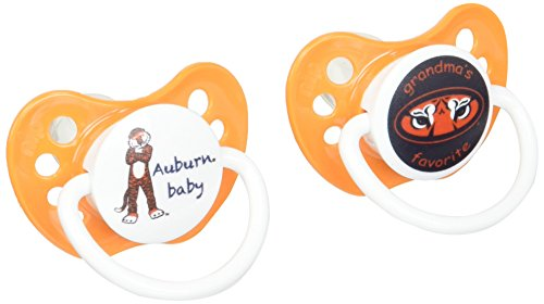 Michaelson Entertainment Pacifier, Auburn, 2 (Auburn Tigers Pacifier)