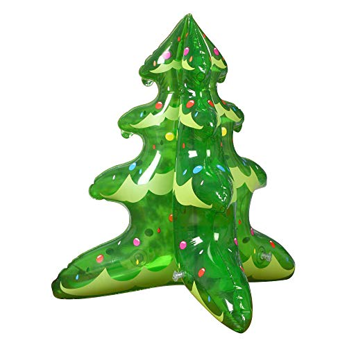 Wonderful Industry ltd Christmas Tree Inflatable Eco-Friendly Xmas Tree Yard Party Decoration-18 inches(2 Pack)