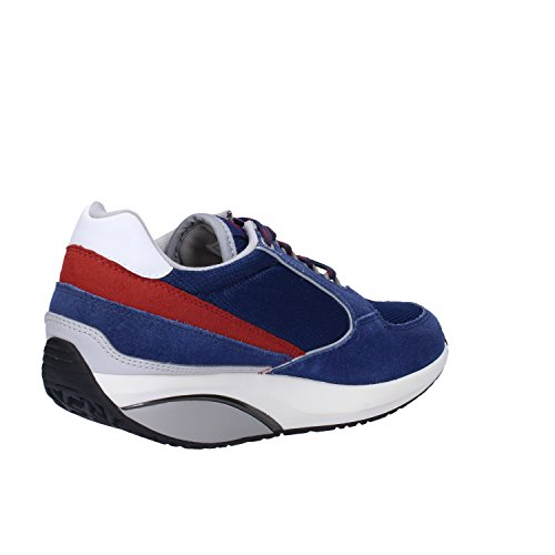 MBT Sneakers Mujer Gamuza Textil (37 EU, Azul)