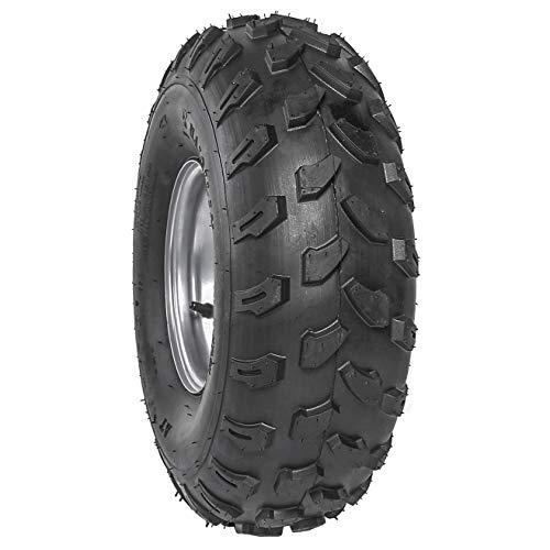 JCMOTO 19x7-8 ATV Tires 19x7.00-8 Tubeless Go Kart Wheel Tire with Rim For Quad Bike 4 Wheelers 4 X 4 Quad Bikes