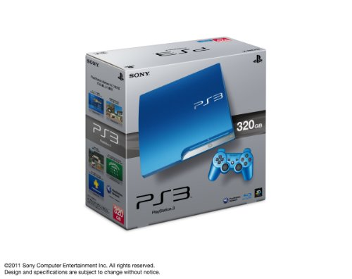 Playstation 3 [320gb] Splash Blue Cech-3000bsb [Japan Import]
