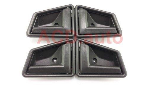 1989-1998 Suzuki Sidekick (Dark Grey) Interior Inner Door Handle Front Right Left (Suzuki Sidekick Front Door)