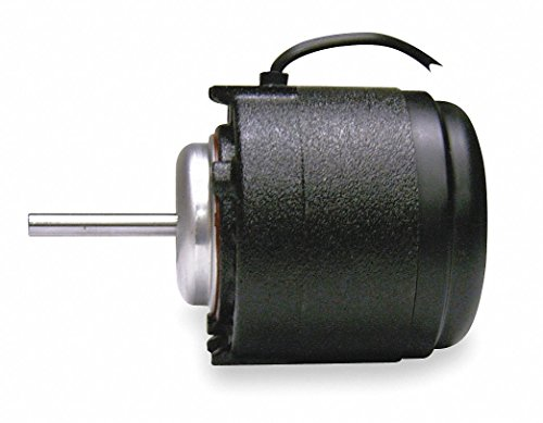 EM&S 1/15 HP Unit Bearing Motor, Shaded Pole, 1500 Nameplate RPM,208-230 Voltage, Frame Non-Standard