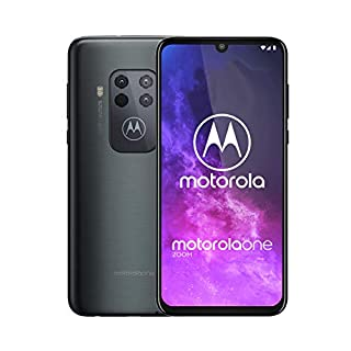 Motorola One Zoom | Unlocked | GSM only | 4/128GB | 48MP | 2019 |Grey