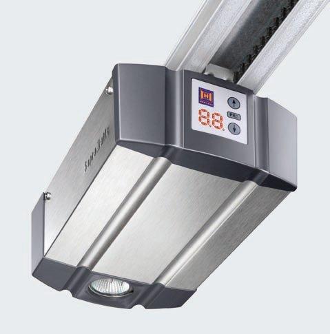 Handsender HS5 BS H/örmann Garagentorantrieb SupraMatic P BiSecur mit kurzer Schiene FS 10 inkl