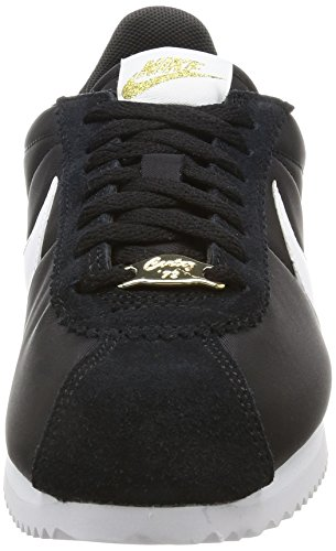 pour Nike Metallic White Mode Noir Black Baskets Gold Femme ECrzq4AC